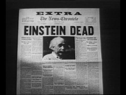 "vídeos de stock, filmes e b-roll de reverse angle typesetting frame as vo typewriter sounds letters appear individually to form mirror image of words ""greatest headlines"" on one row and... - albert einstein"