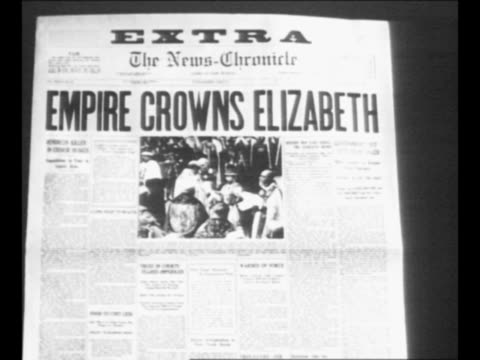 "reverse angle typesetting frame as vo typewriter sounds; letters appear individually to form mirror image of words ""greatest headlines"" on one row... - newspaper headline stock videos & royalty-free footage"