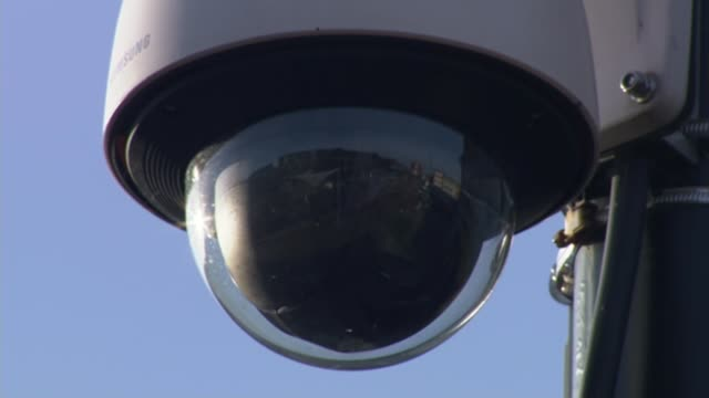 Review of antiterrorism laws published T22011517 EXT Various of CCTV cameras