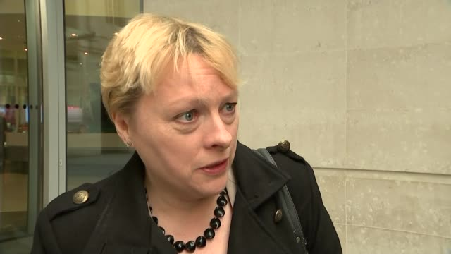 review of laws covering armed police ext angela eagle mp interview sot got to get balance right / people have to have confidence in the police... - リチャード・パロット点の映像素材/bロール