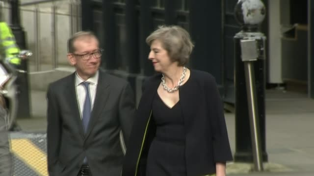 review of the year 2016 13th july 2016 london downing street ext various of theresa may mp and her husband philip along after her appointment as... - government minister stock videos & royalty-free footage