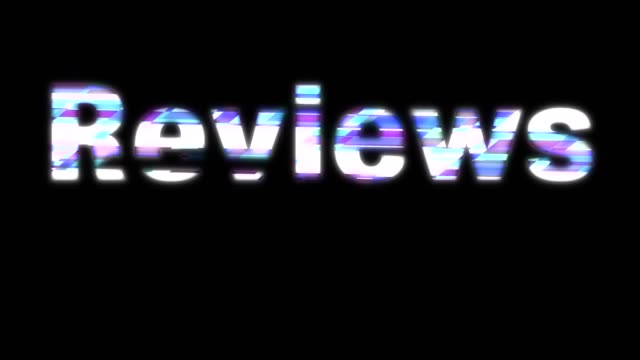 Reviews Glitchy Words