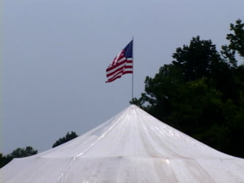 revival meeting tent - revival stock videos & royalty-free footage