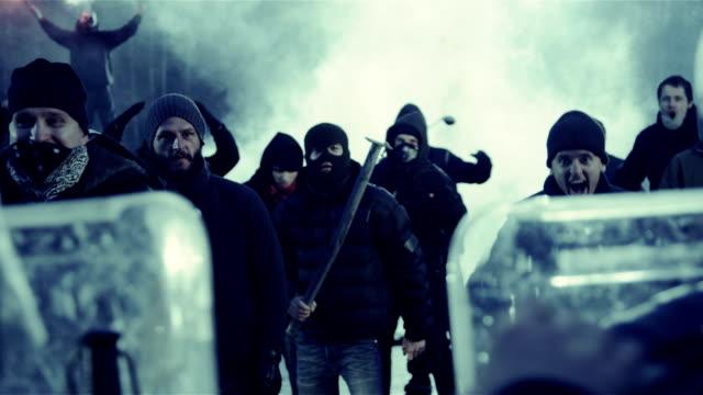 revolution - mob stock-videos und b-roll-filmmaterial