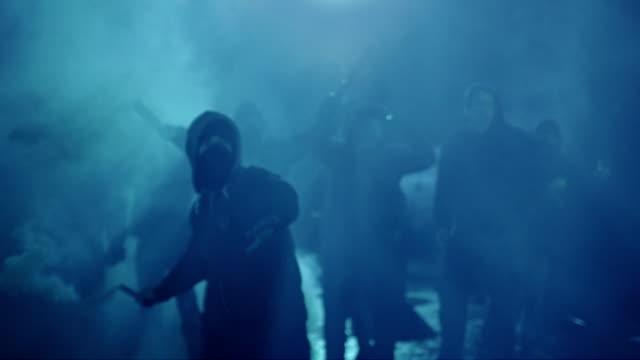 revolution - 暴動点の映像素材/bロール