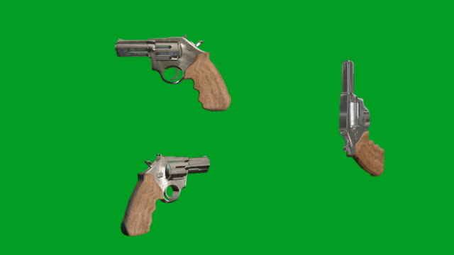 revolver pistole - pistole stock-videos und b-roll-filmmaterial