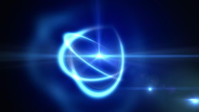 Atome tournant