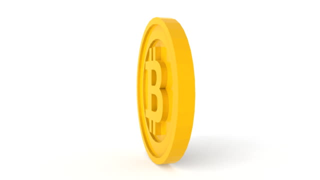 revolving bitcoin - bitcoin stock videos and b-roll footage