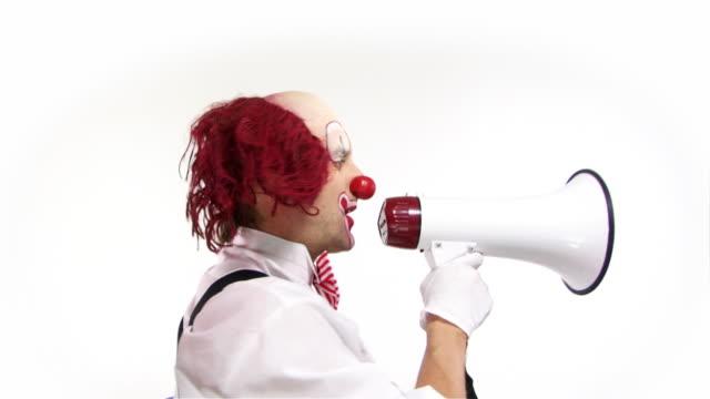 Drehbare Mega Clown.
