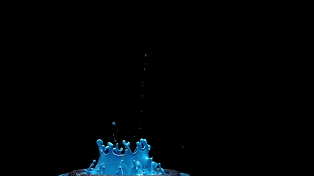 a revolving shot moving around paint as it vibrates on a speaker creating intricate patterns in slow motion. - bouncing stock videos & royalty-free footage