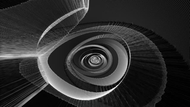 revolving, twirling blossom - greyscale stock videos & royalty-free footage