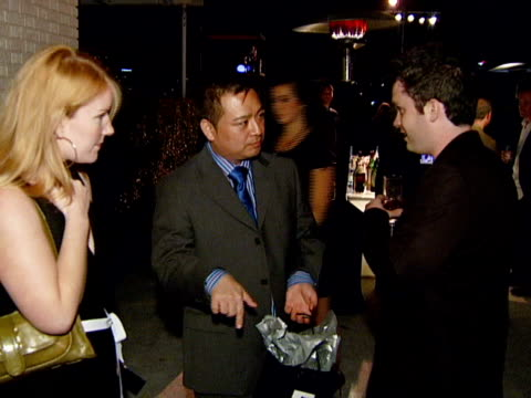 rex lee at the blackberry curve from at&t u.s. launch party at beverly hills california. - curve stock videos & royalty-free footage