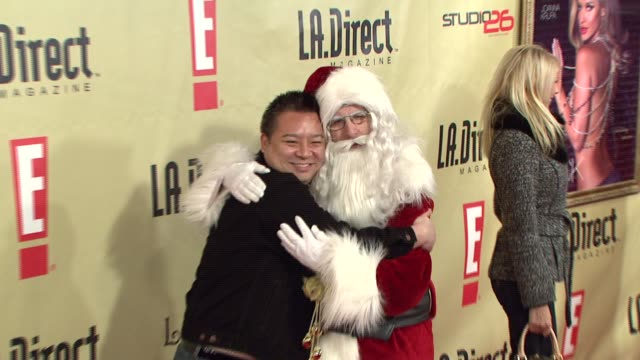 Rex Lee at the LA Direct Magazine's Holiday Party at Les Deux in Los Angeles California on December 14 2007