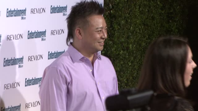 rex lee at the entertainment weekly 6th annual pre-emmy party at los angeles ca. - エミー賞前夜祭パーティー点の映像素材/bロール