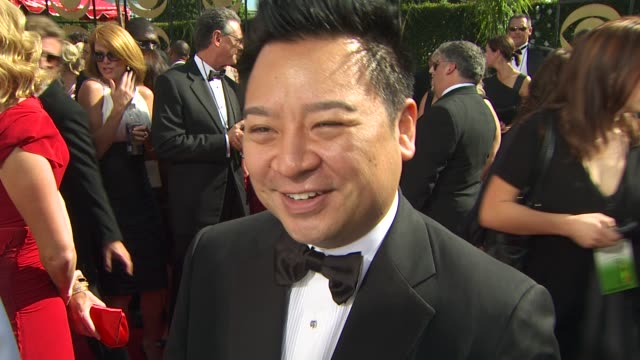 rex lee on his show's nomination. at the 61st annual primetime emmy awards - arrivals at los angeles ca. - annual primetime emmy awards stock videos & royalty-free footage