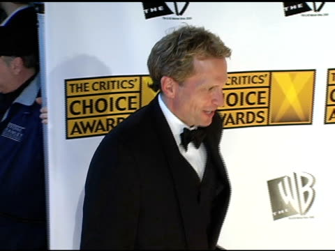 rex smith at the 2005 critics' choice awards at the wiltern theater in los angeles california on january 10 2005 - wiltern theatre stock videos and b-roll footage
