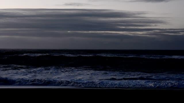 Reynisfjara beach at sunrise, Iceland