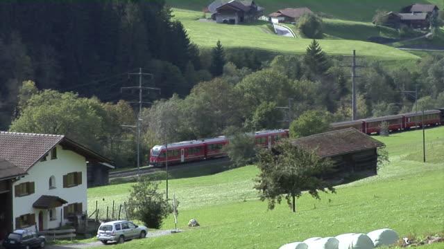 Rhaetian Railway Alegra between Landquart and Davos.