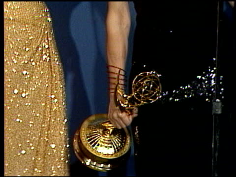 rhea perlman at the 1986 emmy awards at the pasadena civic auditorium in pasadena california on september 21 1986 - emmy awards stock videos & royalty-free footage