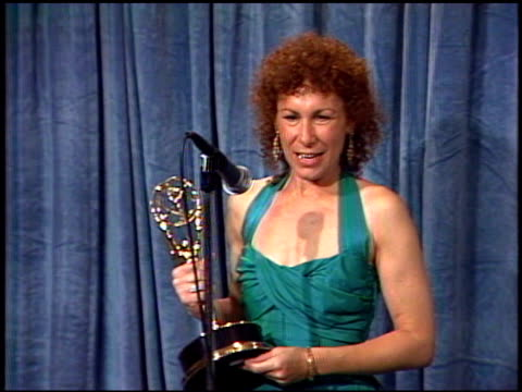 rhea perlman at the 1989 emmy awards backstage at the pasadena civic auditorium in pasadena california on september 17 1989 - awards ceremony stock videos & royalty-free footage