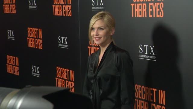 Rhea Seehorn at Secret In Their Eyes Los Angeles Premiere at Hammer Museum on November 11 2015 in Westwood California