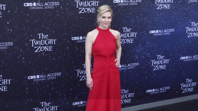 "rhea seehorn at the premiere of ""the twilight zone' at the harmony gold preview house and theater on march 26, 2019 in hollywood, california. - harmony gold preview theatre stock videos & royalty-free footage"