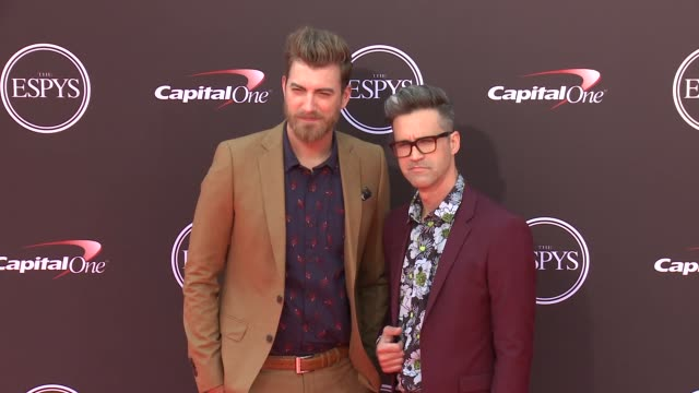 Rhett and Link at The 2018 ESPYS at Microsoft Theater on July 18 2018 in Los Angeles California