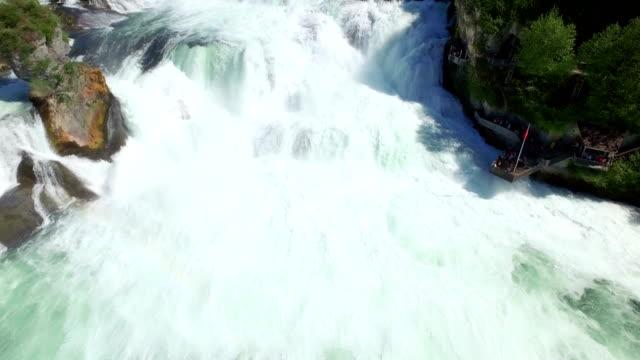 Rhine Falls Aerial View