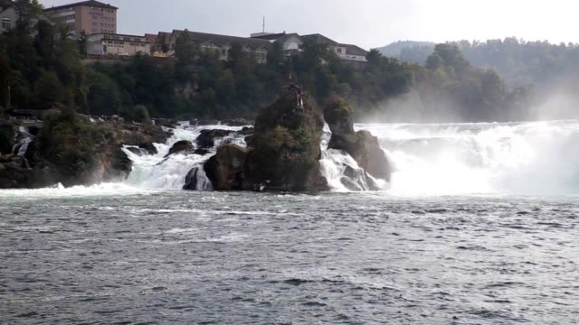 Rhine Falls. Northern Switzerland. Europe.