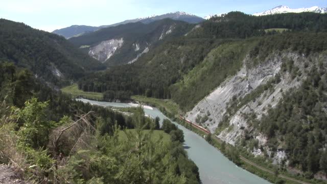 rhine gorge - ravine stock videos & royalty-free footage
