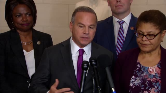 rhode island congressman david cicilline tells reporters during recess from a house judiciary committee impeachment hearing that sadly republicans... - annoying colleague stock videos & royalty-free footage