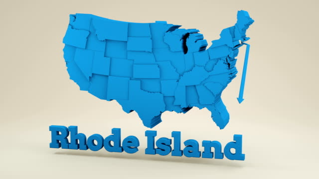 rhode island from usa states - georgia us state stock videos & royalty-free footage