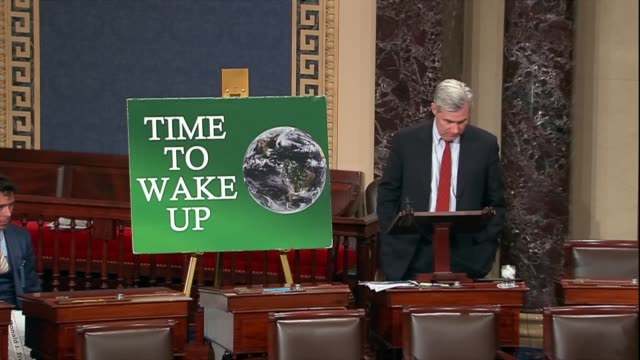 Rhode Island Senator Sheldon Whitehouse says on opening his 200th Time to Wake Up speech about in action against climate change Americans are...
