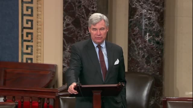 Rhode Island Senator Sheldon Whitehouse says that if the blue slip tradition ended a future president could choose to put a New York or Tennessee or...