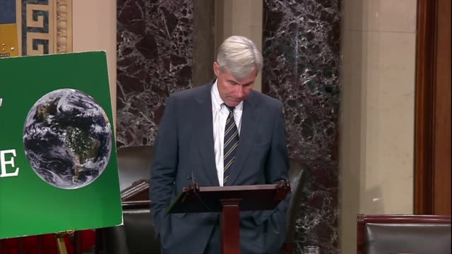 rhode island senator sheldon whitehouse says the scheme of disinformation by politicians and the energy industry are disguised as populism but the... - imitation stock videos & royalty-free footage