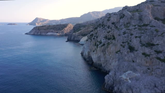 rhodes coast - rhodes dodecanese islands stock videos & royalty-free footage