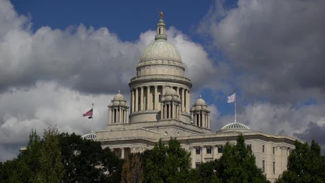 rhose island state capitol building - politik und regierung stock-videos und b-roll-filmmaterial