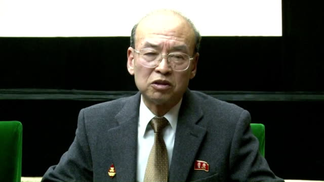 ri gi song a professor at the economic institute of the academy of social sciences in pyongyang stressed in an interview with kyodo news the need for... - 2013年 北朝鮮の核実験点の映像素材/bロール