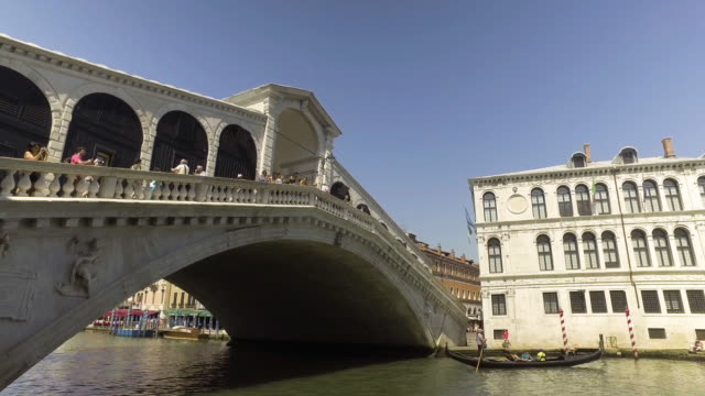 ponte di rialto-brücke - ponte stock-videos und b-roll-filmmaterial