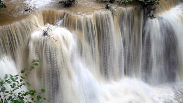 Rian Forest, Huay Mae Kamin Waterfall in Kanchanaburi Province, Thailand