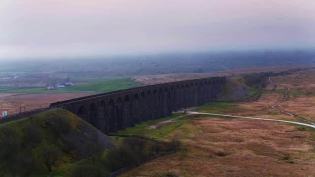 Ribblehead Viaduct Piers - Drone Shot