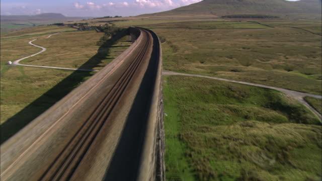 ribblehead viaduct - skipton stock videos & royalty-free footage