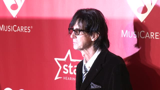 ric ocasek at 2015 musicares person of the year gala honoring bob dylan at los angeles convention center on february 06, 2015 in los angeles,... - ric ocasek stock videos & royalty-free footage