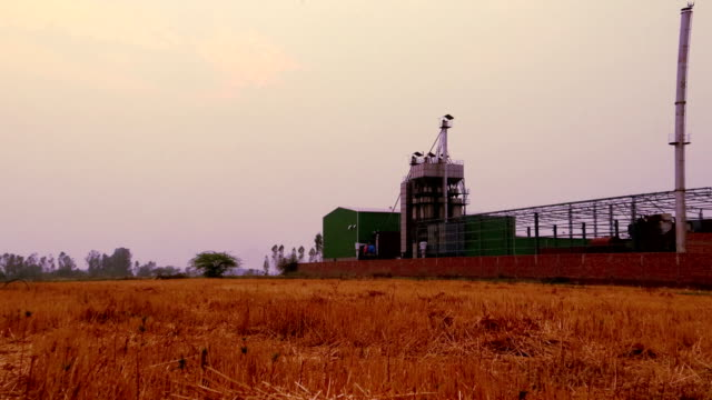 rice mill factory, india - haryana stock videos & royalty-free footage