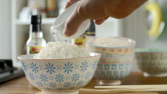 rice vinegar cnapfoo923 - vinegar stock videos & royalty-free footage