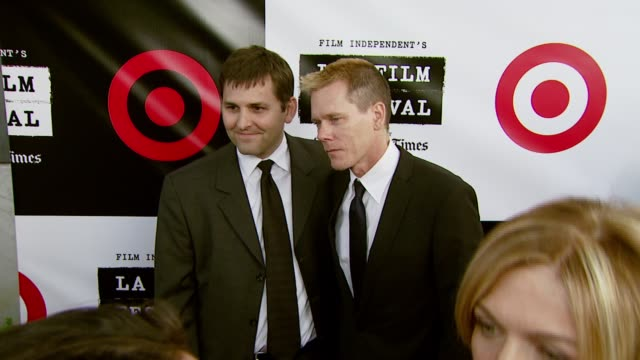 Rich Raddon and Kevin Bacon at the Spirit of Independence Award Ceremony Honoring Clint Eastwood at Billy Wilder Theater in Los Angeles California on...