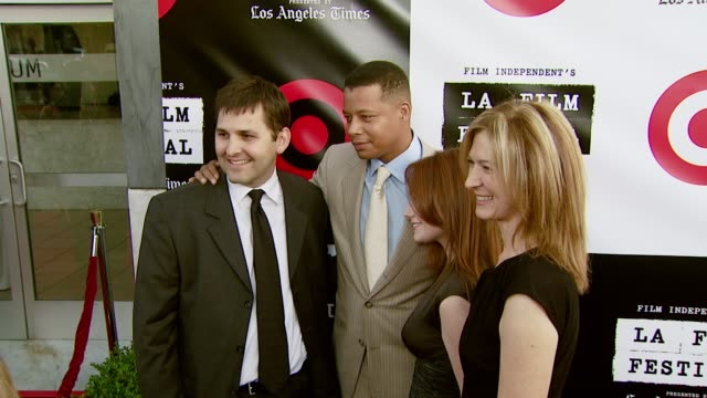 rich raddon terrence howard and dawn hudson at the spirit of independence award ceremony honoring clint eastwood at billy wilder theater in los... - terrence howard stock videos and b-roll footage