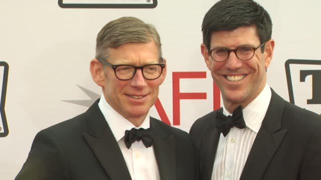 Rich Ross Adam Sanderson at the 38th AFI Life Achievement Award Honoring Mike Nichols at Culver City CA
