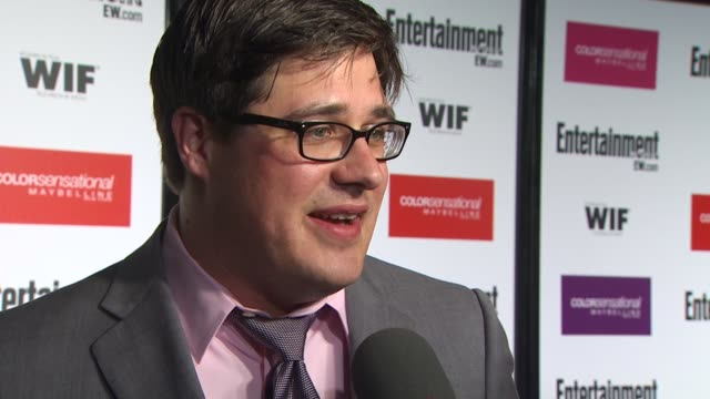 rich sommer at the entertainment weekly - women in film pre-emmy party at west hollywood ca. - pre emmy party stock videos & royalty-free footage