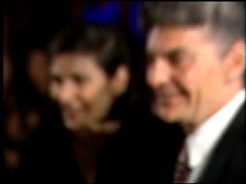 richard benjamin at the 1998 academy awards vanity fair party at morton's in west hollywood, california on march 23, 1998. - 第70回アカデミー賞点の映像素材/bロール